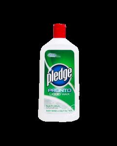 Pledge Pronto Liquid Wax 500ml Natural
